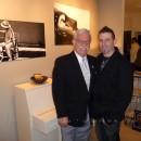 Musician and Pianist for Marilyn Monroe Al Carmen Guastafeste with Fine Art Photographer Joseph Cristina