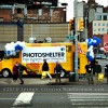 Food Trunk sponsored by Photo Shelter across from the Javis Center and Madison Square Garden. Street Photography by Joseph Cristina