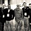 Finally the whole gang Rosh Sillars, Seshu, Jack Hollingsworth, Trevor Current & Joseph Cristina